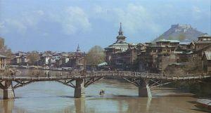 """a Velha Srinaggar ainda vive tal e qual era quando a """"Sagrada Família"""" estudou lá."""