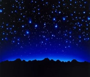 As noites estreladas são belas onde quer que estejamos.