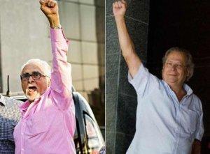 No próximo pleito, eis nossos respectivos Presidente e Vice-Presidente da República, com muito orgulho... Arre égua!