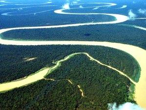 As águas de um rio seguem a Lei do Menor Esforço.