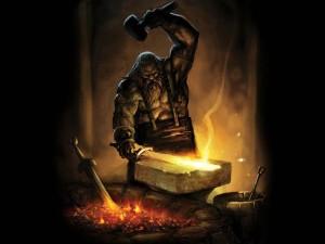 Hefestos, o senhor do Hades tão temido pelos fantasiosos legionários e pelos gregos criadores do mito.