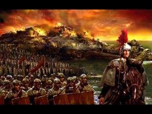 Dor, desespero, sangue e sofrimento. Eis o que o César romano dava a seus comandados...