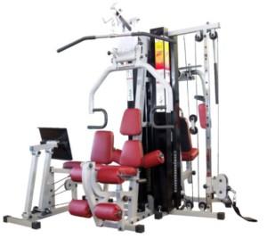 A Estação de Musculação.