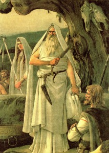 Acreditava-se que os druidas eram detentores de poderes sobre as entidades da Natureza.