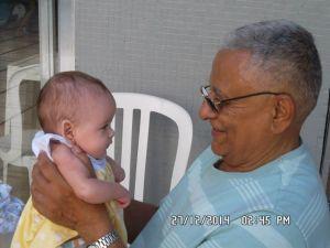 Eu e minha netinha