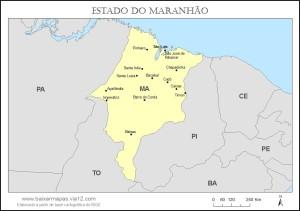 E o Maranhão ficou assim, parecendo um morcegão aleijado. E foi realmente aleijado pelos Sarneys.