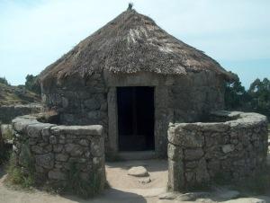 Uma casa celta.