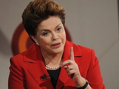Dilma dando aula de petismo