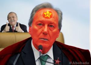 """Eis um """"ilegítimo"""" representante do Terceiro Poder. Neste momento, quase todo ele """"vemelho""""."""
