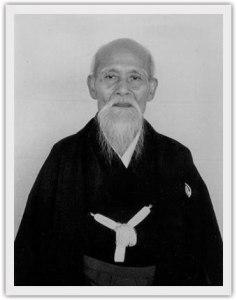 Eis Morihei Ueshiba, o fundador do Aiki-dô.