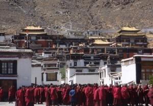 Mosteiro budista tibetano.