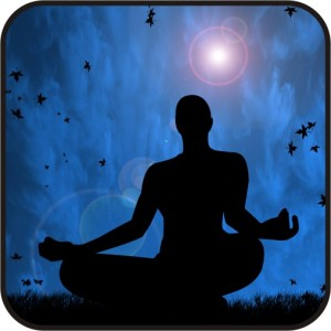 Postura milenar de meditação.