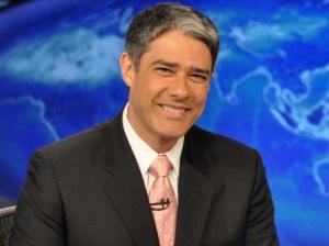 O simpaticíssimo Diretor e apresentador do noticiário mais assistido no Brasil: O Jornal Nacional.