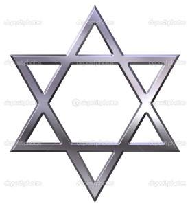 Eis o Signo de Salomão, a  Estrela de David.