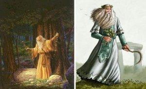 Os Druidas eram, além de sacerdotes, os legisladores e os juízes das aldeias celtas.
