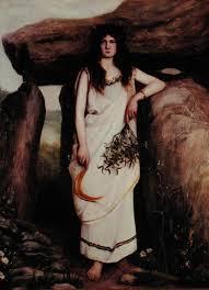 Mirtha era uma druidesa dedicada a práticas mágicas.