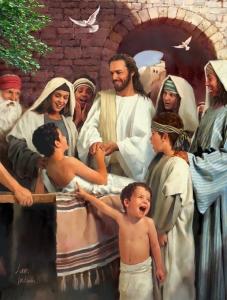 O Rei dos Reis vivia cercado por crianças e mulheres.