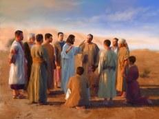 Issa ou Yehoshua era incansável em ensinar a quantos estivessem a seu alcance sobre a Verdadeira Lei do Pai.