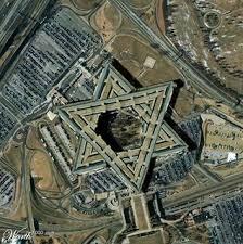 Vista aérea da Sede do Mossad, o Serviço de Inteligência de Israel.