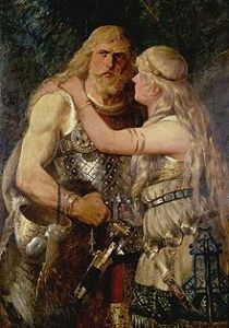 Armínio, o temido rei dos germanos.