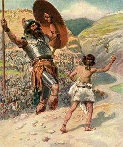 David vence Golias