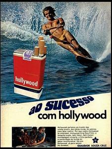 Nos anos 70 este cartaz estava em todas as esquinas das cidades brasileiras. Sucesso com tabaco???