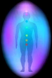 O Ovo Áurico é uma estrutura luminosa que nos envolve e nos defende de ataques de fora.