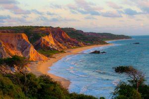 Praia de Tambaba, na Paraíba.