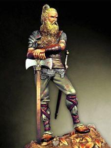 Os guerreiros germanos não ficavam devendo nada aos guerreiros celtas.