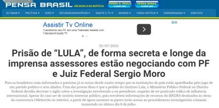 Será verdade? Se é, por que toda a Imprensa, exceto este site, ficou em silêncio? Tenor ao Exército do Stédile? Ou à invasão venezuelana para libertar o bufão petralha?
