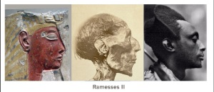 A Arqueologia desmitifica o Ramsés cinematográfico. O original era negro.
