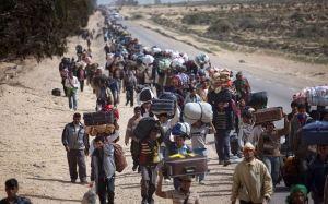 Os novos judeus não vagam pelo deserto, mas pela Europa. Sem lar, sem pátria e recusados por todos.