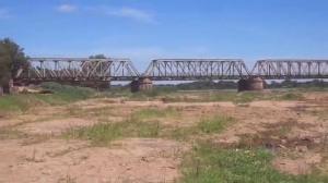 Ponte Mal. Hermes sobre o que já foi o Rio São Francisco.