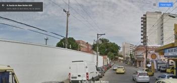 No lugar onde há este muro branco, havia o velho prédio onde criei a PSI-PHI - SOCIEDADE MÉDICO-PSICLÓGOCA LTDA, na Rua Barão do Bom Retiro, 833.