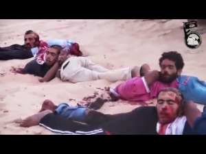 Barbaridade Islâmica. E um grupo de fanático endemoninhado que faz isto pode ser respeitado e tratado como ser humanos? NÃO!