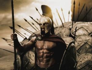 Os espartanos não eram flor que se cheirasse. Brigões até à alma, deles não herdamos nem um tiquinho assim daquele sangue valente.