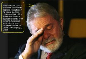 """""""Errei sim, manchei o Brasil, mas foi a Dilma a culpada! E o triplex não é meu!!!"""""""