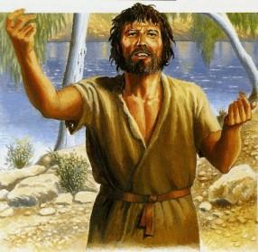 A representação mais próxima do Batista não lhe faz jus. Ele não tinha esta expressão beatífica nem andava com uma cruz como cajado. Era rude, grosseiro e ríspido no falar. Trajava-se com pele de camelo e pregava com aspereza.