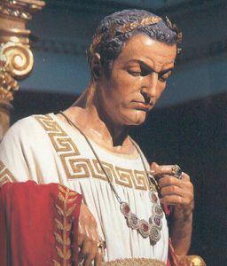 Pilatos era mal-humorado. Andava magoado com a esposa contra a qual pesava a desconfiança de tê-lo traído no leito.