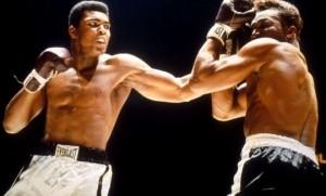 Pratiquei o boxe e detestei ter a cara e o nariz quebrados por quem era melhor que eu.