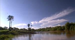 O rio Jenipapo, em Campo Maior, Piauí, nas margens do qual uma batalha sangrenta aconteceu e o Brasil todo esqueceu.