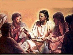 Yehoshua conversando com seus apóstolos.