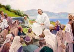 Yehoshua pregava próximo do Yam e ao seu redor as mulheres eram muito numerosas.