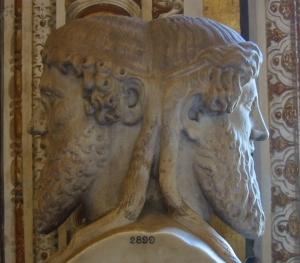 O Deus Janu ou o Deus Bifronte representa bem o fenômeno da Cognição.