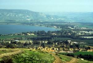 A Galiléia de Yehoshua. A geografia mudou muito pouco. Foi uma paisagem quase igual a esta que Ele viu e na qual viveu por um tempo.