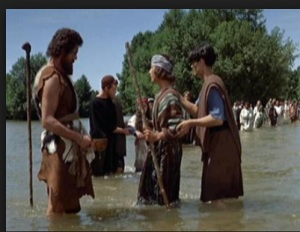 Assim o cinema representa Yohanan, ou João Baptista, como é mais conhecido entre os cristãos.