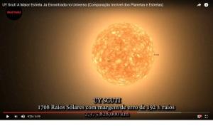 Eis a mais recente estrela descobra na Via Láctea e que é a maior detectada até este momento.