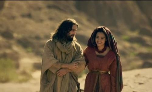A ESPOSA DE YEHOSHUA E ELE JUNTOS
