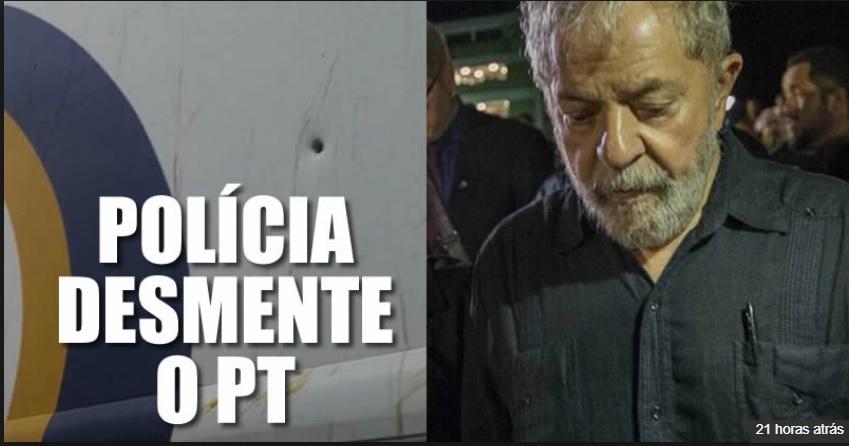 TIROS NOS ÔNIBUS DA COMITIVA DO LULA 2