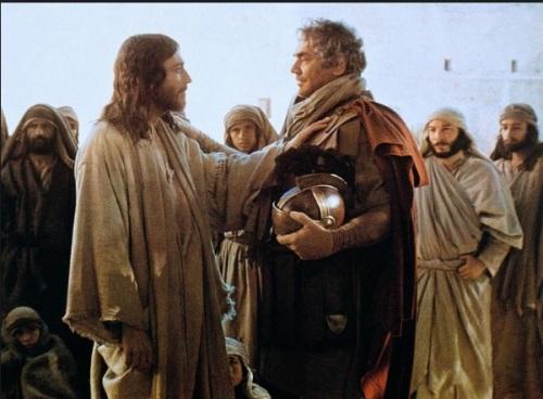 ASSIM O CINEMA RETRATOU JESUS E O CENTURIÃO